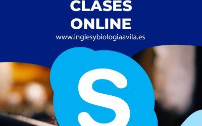 Clases de Inglés y Biología online en Ávila