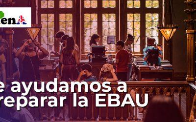 Te ayudamos a preparar la EBAU