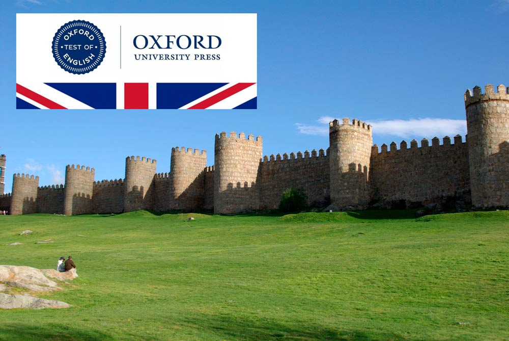 Presentación 2020 del Oxford Test of English en Ávila capital